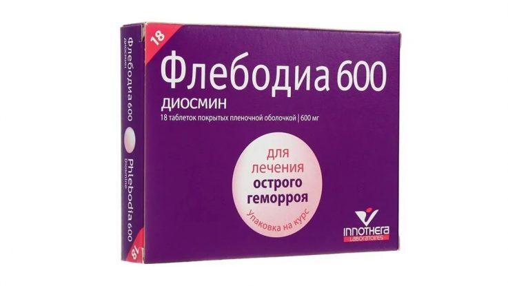 Активные компоненты и механизм действия препарата Флебодиа 600