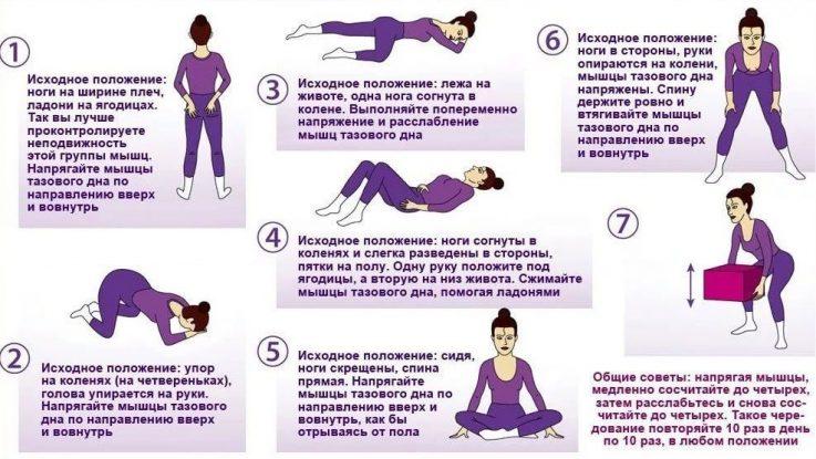 Какие физические упражнения помогут справиться с геморроем
